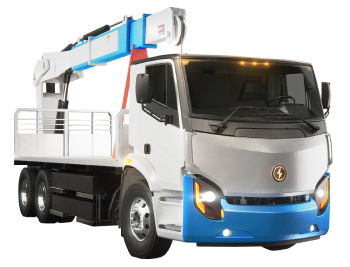 Lion8 - All-Electric, Zero-Emission Single Axle truck | Lion Electric