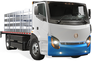 Lion8 - All-Electric, Zero-Emission StackBed truck | Lion Electric