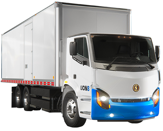 Lion8 Tandem - All-Electric, Zero-Emission Tandem Truck | Lion Electric