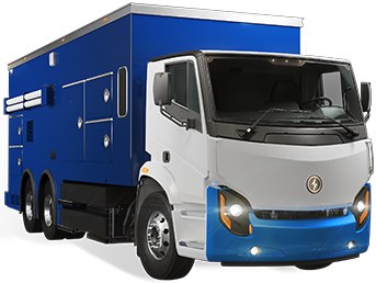 Lion8 - All-Electric, Zero-Emission Utility truck | Lion Electric